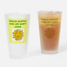english muffins Drinking Glass