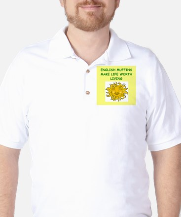 english muffins Golf Shirt