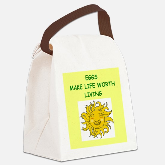 EGGS Canvas Lunch Bag