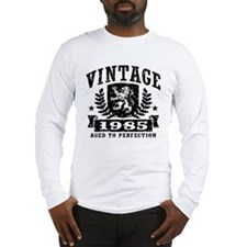 Vintage 1985 Long Sleeve T-Shirt
