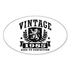 Vintage 1985 Decal
