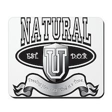 NaturalUBlk Mousepad