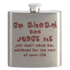 Go Ahead and Judge Me Flask