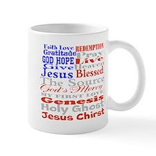 words from gods garden Mug