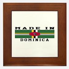 Dominica Made In Framed Tile