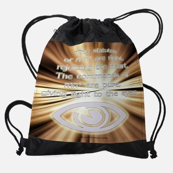 lighteyescalendar.jpg Drawstring Bag