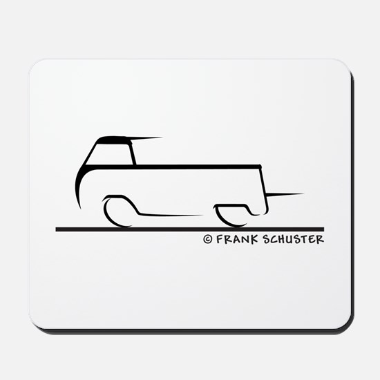 Speedy Single Cab Mousepad