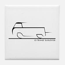 Speedy Single Cab Tile Coaster