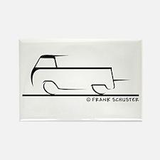 Speedy Single Cab Rectangle Magnet