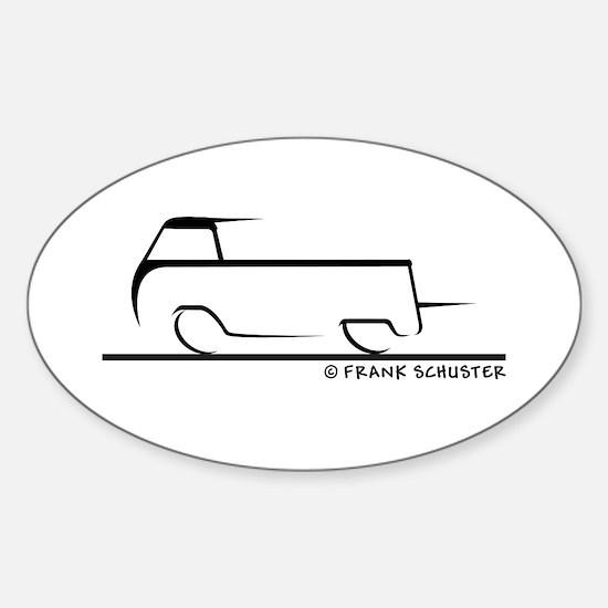 Speedy Single Cab Sticker (Oval)