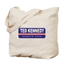 Support Ted Kennedy Tote Bag