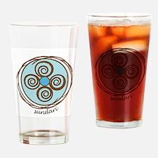 Sundari Yoga Drinking Glass