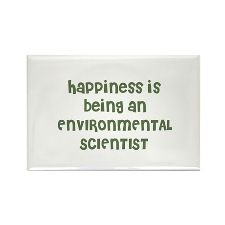 Happiness is being an ENVIRON Rectangle Magnet (10