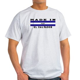 El Salvador Made In T-Shirt