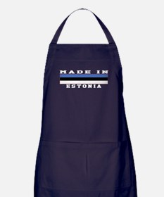 Estonia Made In Apron (dark)