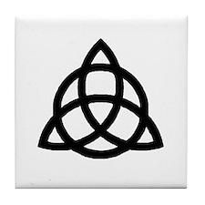 Plain Triquetra Tile Coaster