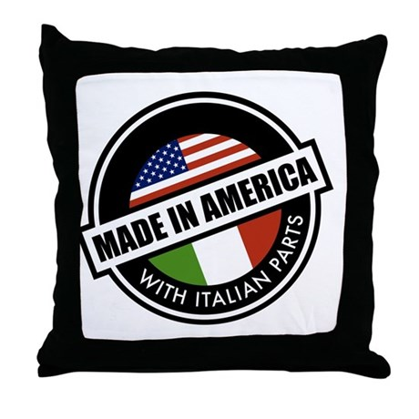 Made in America Throw Pillow by listing-store-109091665