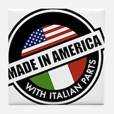 Made in America Tile Coaster