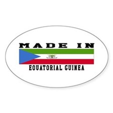 Equatorial Guinea Made In Decal