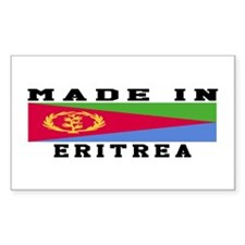 Eritrea Made In Decal