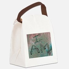 I AM Canvas Lunch Bag