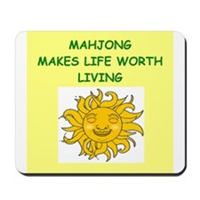 mahjong Mousepad