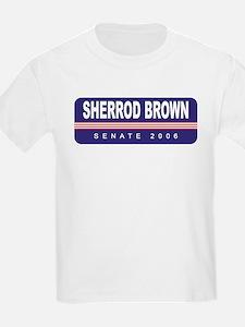 Support Sherrod Brown Kids T-Shirt