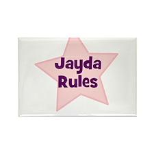 Jayda Rules Rectangle Magnet