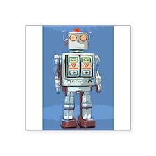 Robot Rectangle Sticker