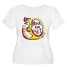 Fear No Art - Original! Plus Size T-Shirt