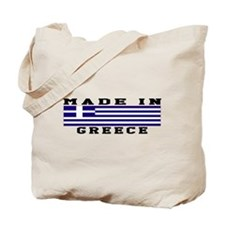 Greece Made In Tote Bag