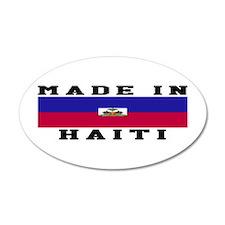 Haiti Made In Wall Decal