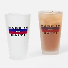 Haiti Made In Drinking Glass