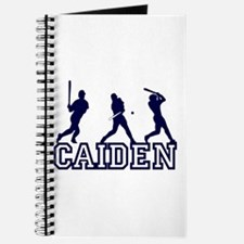 Baseball Caiden Personalized Journal