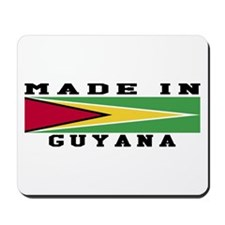 Guyana Made In Mousepad