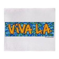 ViVA L.A.! Throw Blanket