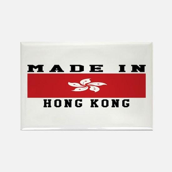Hong Kong Made In Rectangle Magnet