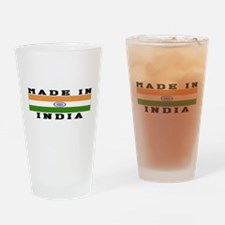 India Made In Drinking Glass