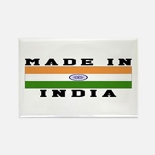 India Made In Rectangle Magnet