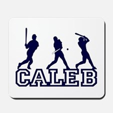 Baseball Caleb Personalized Mousepad