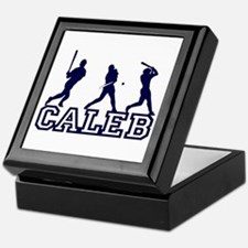 Baseball Caleb Personalized Keepsake Box