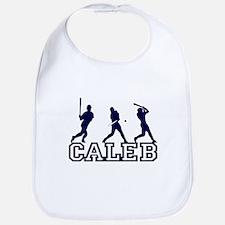 Baseball Caleb Personalized Bib