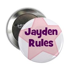 "Jayden Rules 2.25"" Button (10 pack)"