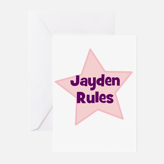 Jayden Rules Greeting Cards (Pk of 10)