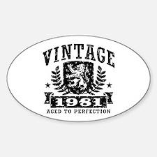 Vintage 1981 Decal