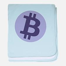 GFB Bitcoin Logo baby blanket