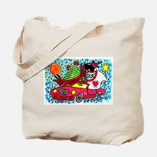 Sharks in the City: Chinese Theatre Shark Tote Bag