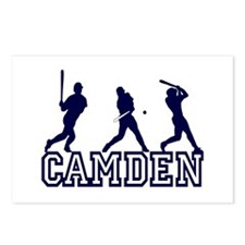 Baseball Camden Personalized Postcards (Package of
