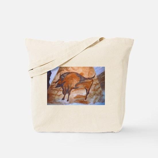 Alta Mira Bison Cave Painting Tote Bag