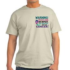 Kick Ass On Impact Thyroid Cancer T-Shirt